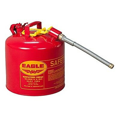 "Eagle U2-51-S Red - w/7/8"" O.D. Flex Spout"