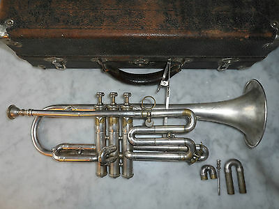 Lyon and Healy Cornet Antoine Coutois Model Improved Own Make. 1900's