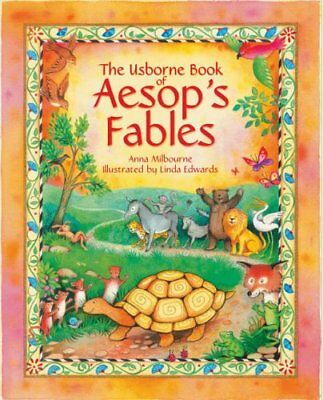 Aesop's Fables, Milbourne, Anna Hardback Book The Cheap Fast Free Post