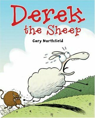 Derek the Sheep (Beano) by Northfield, Gary Hardback Book The Cheap Fast Free