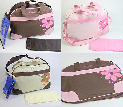 2015 NEW Baby Diaper Bag Nappy Tote Messenger Changing Bag 118+3 Colors