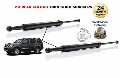 FOR NISSAN PATHFINDER 2005--> NEW 2 x REAR TAILGATE BOOT LID STRUT SHOCKER SET