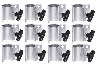 12 Pack of Corner Leg Sockets for building your own Portable Stage Decks.