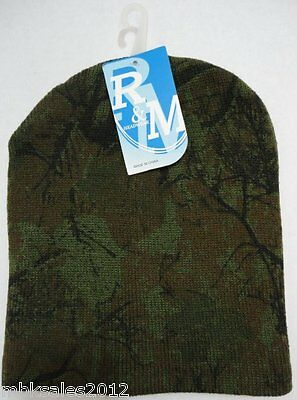 Bulk lot of 96 Hardwoods Tree Camoflauge Camo Winter Knit Hat Beanie
