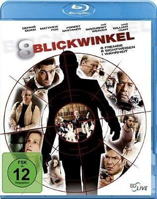 Blu-ray * 8 Blickwinkel - Thrill Edition * NEU OVP