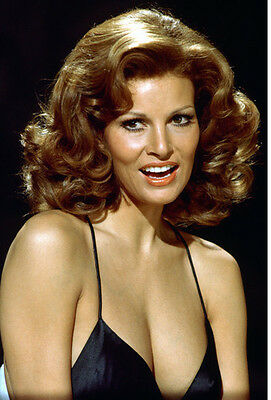 RAQUEL WELCH LOW Cut Dress Candid With Barbara Rush Photo Or Poster ... 9ad0f845a