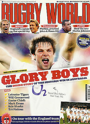 RUGBY WORLD MAGAZINE August 2010