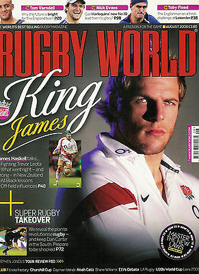 RUGBY WORLD MAGAZINE August 2008