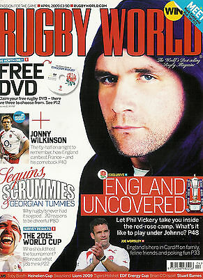 RUGBY WORLD MAGAZINE April 2009