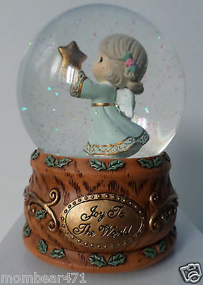 Precious Moments Share The Gift Of Love Musical Water Globe 131101  Nib Air Ship