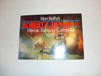 Book Collectors Find: Ken Kelly's Robert E. Howard Heroic Fantasy Caledar 1979