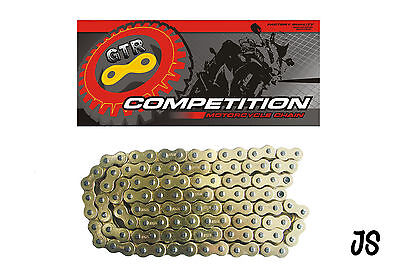 Suzuki TC100 72-77 Gold Heavy Duty Motorcycle Chain