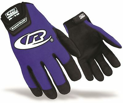 *SALE* Ringers Authentic R13 Mechanics Pit Crew Work Gloves Size X-Large Blue