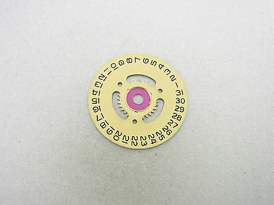 Rolex Datejust Medium 31 mm Datumscheibe date disc indicator Kaliber 2135 beige