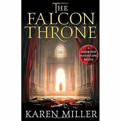 The Falcon Throne: Book One of the Tarnished Crown, Miller, Karen, Very Good con