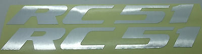 RC51 Decal Sticker For HONDA VTR1000 RC51-silver