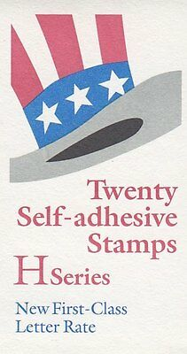 UNITED STATES BOOKLET:1998 'Top Hat' self-adhesive  SC #BK271 never hinged mint