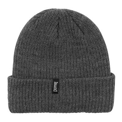 Creature ASSPEN LONG SHOREMAN Skateboard Beanie HEATHER GREY