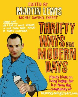 Thrifty Ways For Modern Days by Lewis, Martin Paperback Book The Cheap Fast Free