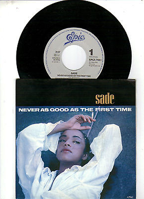 Sade Never As Good As The First Time 7 45 Eur 499 Picclick It