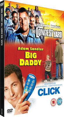 The Longest Yard/Click/Big Daddy DVD (2007) Kate Beckinsale