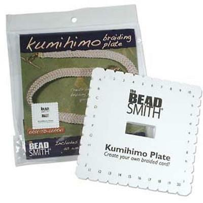 "The Beadsmith 6"" Kumihimo Square Disk  - with instructions"