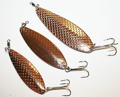 Abu Garcia Koster Copper Spoon lures - 3 to choose from - 28grm, 40grm or 60grm