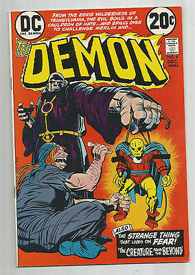 THE DEMON #4: Bronze Age Grade 9.2 Jack Kirby Classic!!!