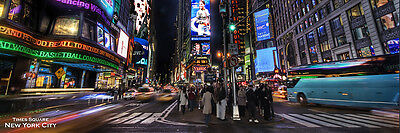 TIMES SQUARE - NEW YORK CITY POSTER - 12x36 NYC 12026