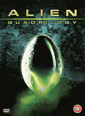 Alien Quadrilogy DVD (2003) Sigourney Weaver