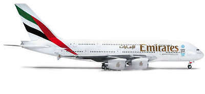 Herpa Wings 1/200 Scale Emirates Airbus A380-800 | Bn | 555432-001