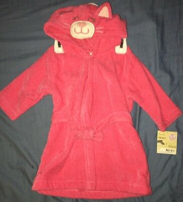 Baby Girl PinK Robe Size 0-9 Months