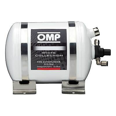 OMP White Collection Electrical Safety Fire Extinguisher System - 2.8 Litre