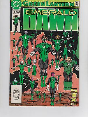 DC Comic! Green Lantern: Emerald Dawn! Issue 6!