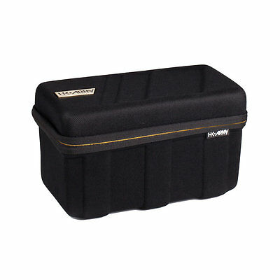 HK Army Exo Loader Case - Black / Gold - Paintball - New