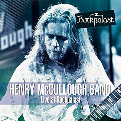Henry McCullough Band : Live at Rockpalast CD Album with DVD 2 discs (2014)