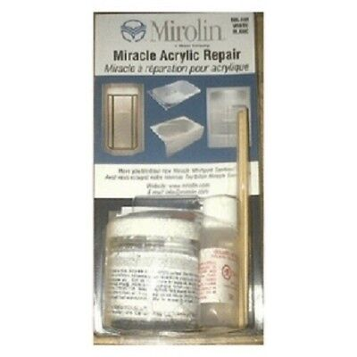 Miracle White Acrylic Tub and Shower Repair Kit