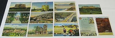 1930's 194'0s 1950's Postcard lot ~ 12 Postcards ~ NEW MEXICO ~ Free Shipping
