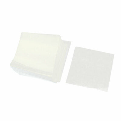 500pcs Lightweight Smooth Square Shaped Weighing Paper 75mmx75mm