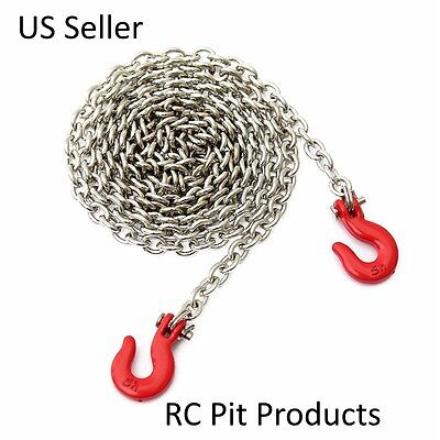 RC 1/10 Scale red Chain and Hook Accessories For Axial-RC4WD-Taymia US Seller