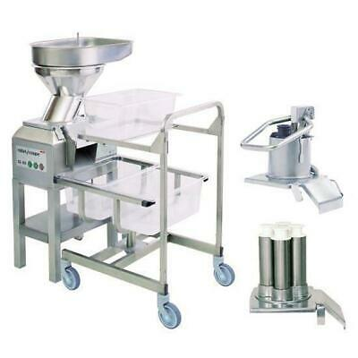 Robot Coupe Veg Prep Machine CL60 Workstation w 16 Discs, Commercial Equipment