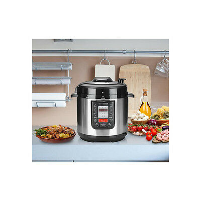 Rank Arena 6L Automatic Electric Pressure & Multi-Function Food Cooker (NEW)