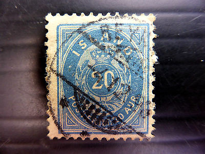 ICELAND 1898 SG32a UsedNEW LOWER PRICE FP3729