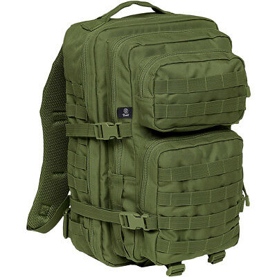 Brandit Us Cooper Rucksack Large Military Assault Backpack Army Molle Pack Olive