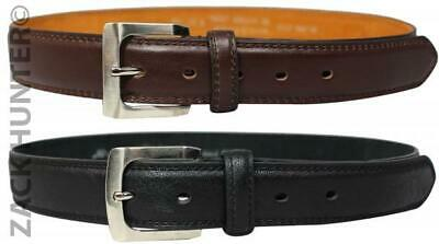 "Childrens Leather 1.25"" Belts Kids Casual Belt Boys Wedding Belts Milano"