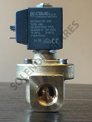 "solenoid valve 1/2""  3/4""  1""  2""  3""  BSP (Normaly Closed) brass CEME"