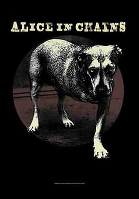 ALICE IN CHAINS - DOG - FABRIC POSTER - 30 x 40  WALL HANGING 52153