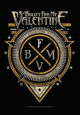 BULLET FOR MY VALENTINE - EMBLEM - FABRIC POSTER - 30 x 40  WALL HANGING 52154