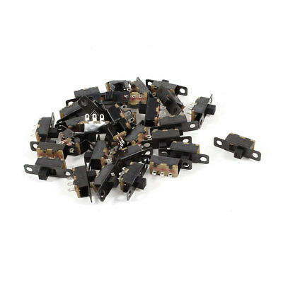 30 Pieces ON/ON SPDT Mini Panel Slide Switch SS12F1-G3 DC 50V 1A