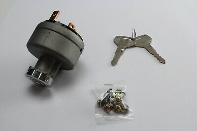 OEX IGNITION SWITCH DIESEL , GLOW - OFF - ACC/IGN - START (30A @ 12V) 25mm DIA